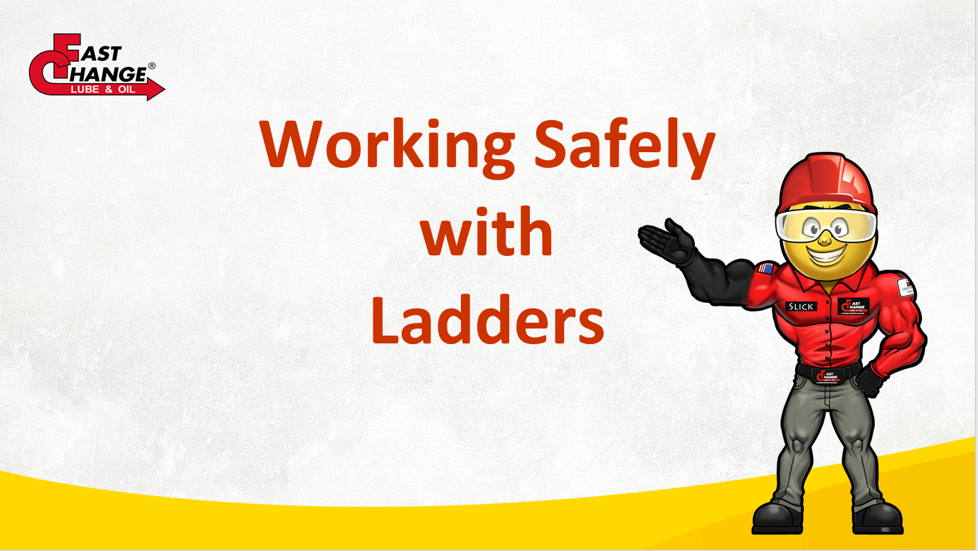 Working Safely With Ladders