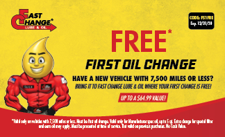 Free First Oil Change