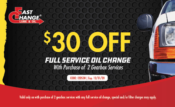 $30 Off Full Service Oil Change