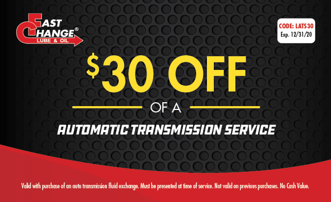 $30 Off of a Automatic Transmission Service